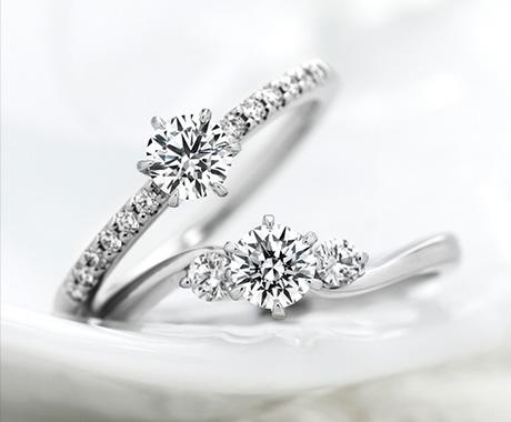 ロイヤル・アッシャーのダイヤモンドリング