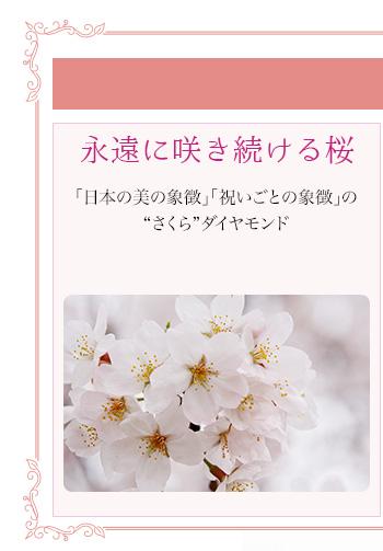 永遠に咲き続ける桜