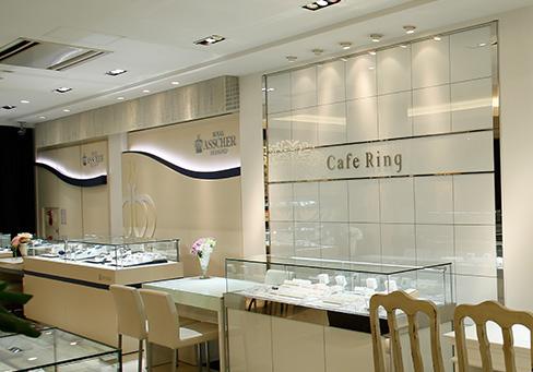 長野市ジュエリーリッツ一真堂店内|長野市で人気の結婚指輪・婚約指輪ブランド