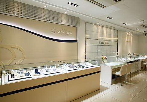 長野市ジュエリーリッツ一真堂正規取扱い結婚指輪・婚約指輪ブランドのロイヤルアッシャーダイヤモンド、cafering(カフェリング)