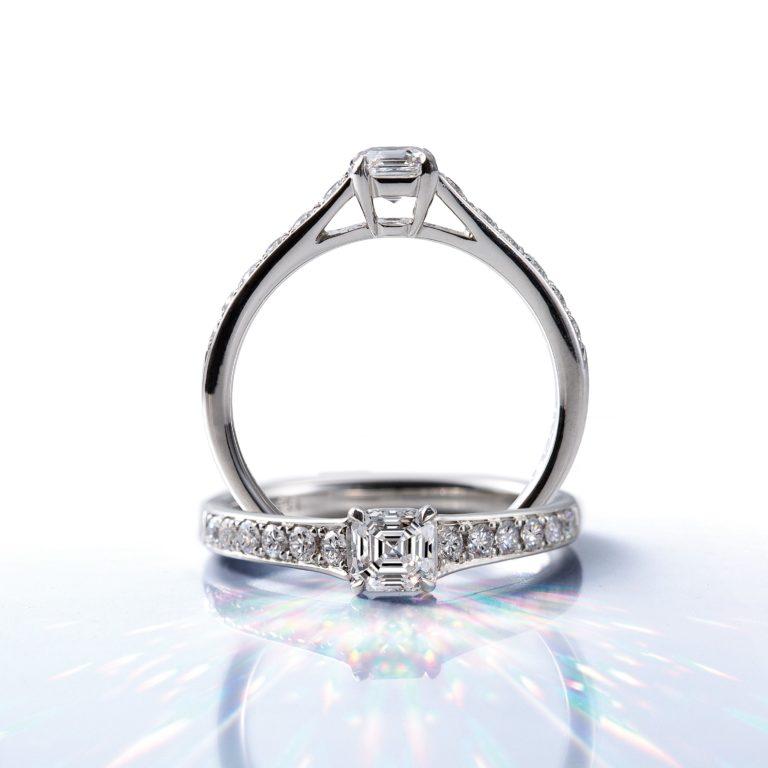AC005|ロイヤルアッシャー婚約指輪