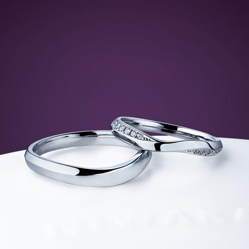 【飯田市】俄のご結婚指輪をお作りいただきました!