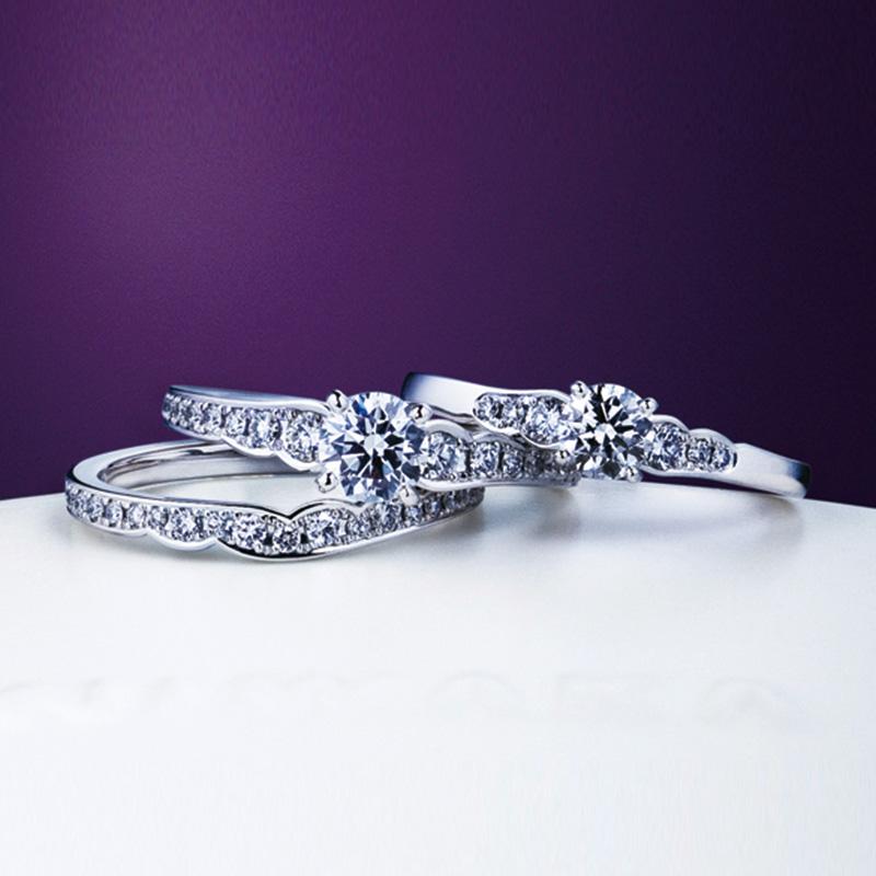 花麗 NIWAKA 婚約指輪・結婚指輪