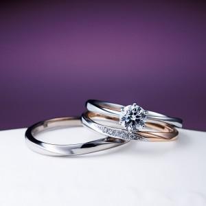花雪 雪佳景 NIWAKA 婚約指輪・結婚指輪