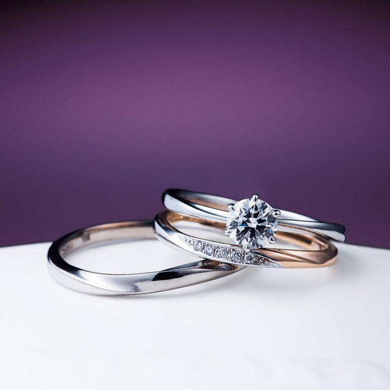 花雪 雪佳景|NIWAKA 婚約指輪・結婚指輪