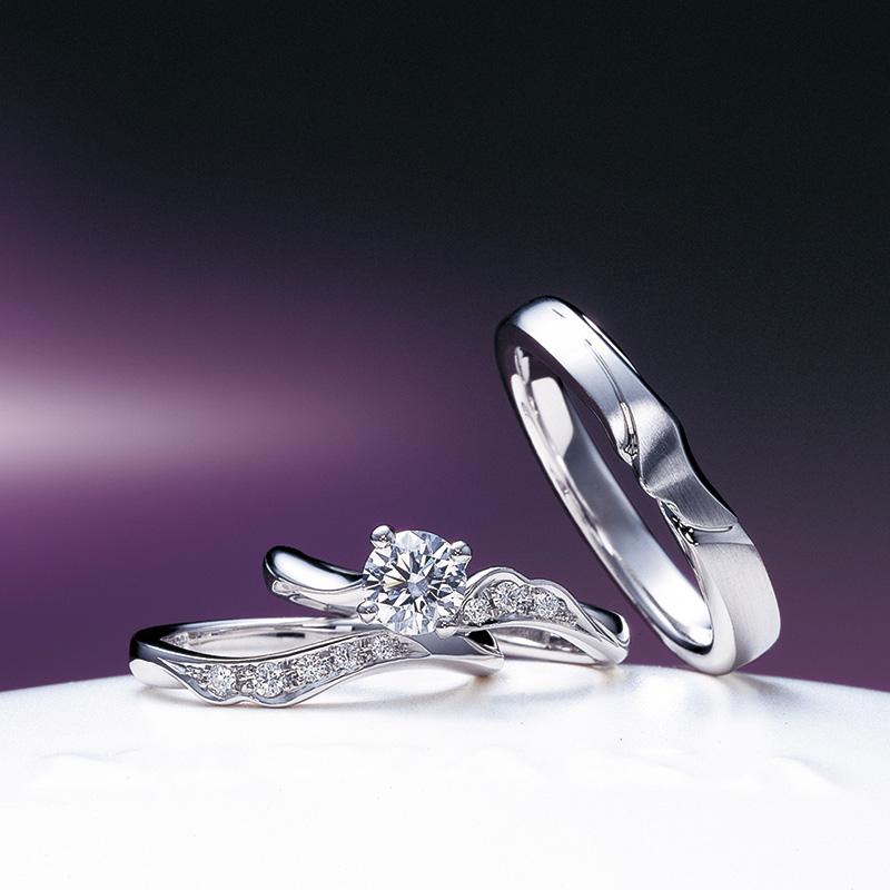 【飯田市】俄のご婚約指輪、ご結婚指輪をお作りいただきました!