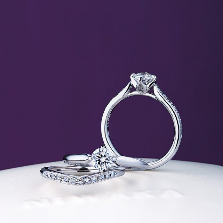睡蓮|NIWAKA 婚約指輪・結婚指輪