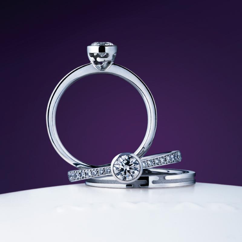 八重霞|NIWAKA 婚約指輪・結婚指輪