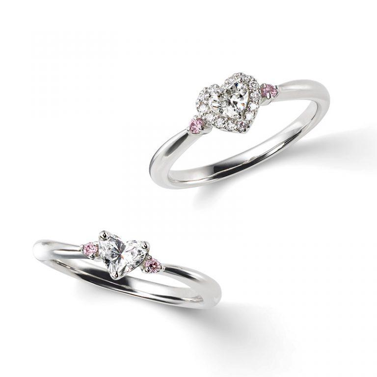 HAPPY HEART(ハッピーハート) ポンテヴェキオ婚約指輪