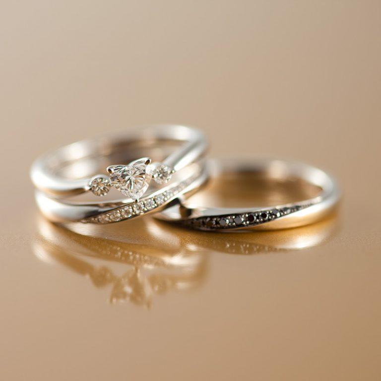 HAPPY HEART(ハッピーハート)/RINCONTRO(リンコントロ)|ポンテヴェキオ婚約指輪・結婚指輪
