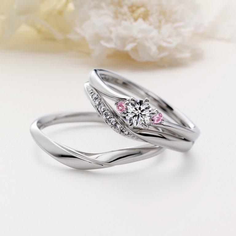 Sante(サンテ) クワンドゥマリアージュの婚約指輪、結婚指輪のセットリング