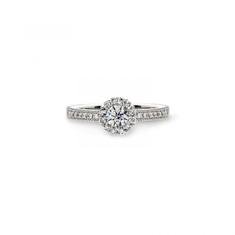 Au Soleil(オ ソレイユ) クワンドゥマリアージュの婚約指輪