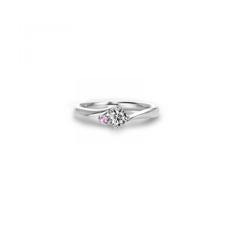 Doux brise(ドゥ ブリーズ) クワンドゥマリアージュの婚約指輪