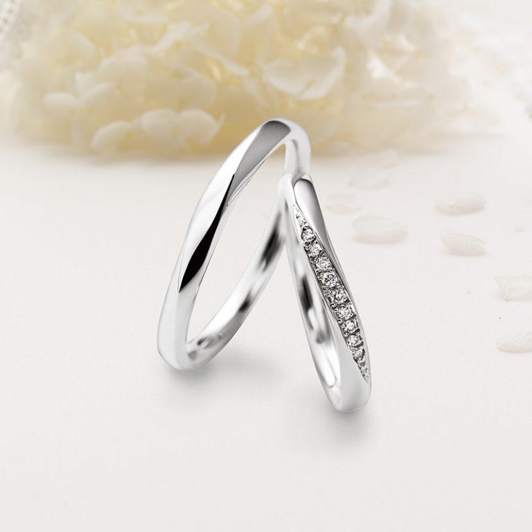 Doux brise(ドゥ ブリーズ)クワンドゥマリアージュの結婚指輪