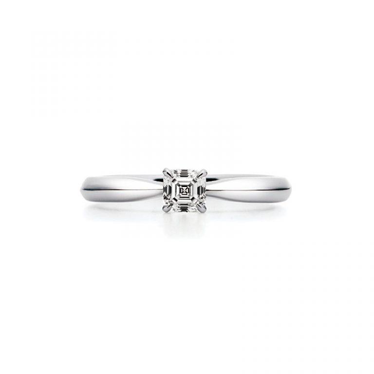AC009|ロイヤルアッシャー婚約指輪