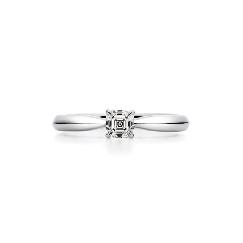 AC009 ロイヤルアッシャー婚約指輪