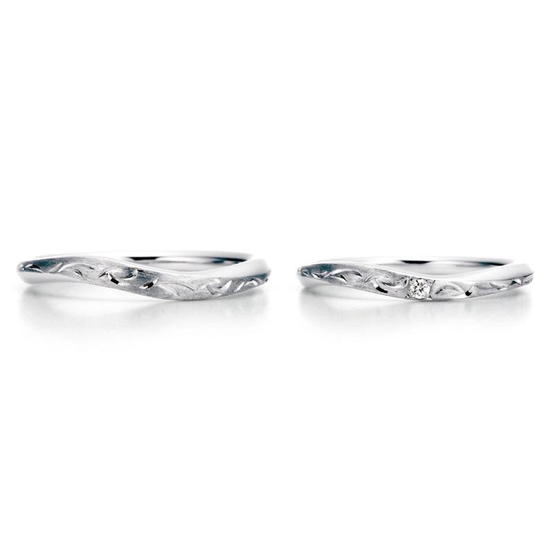 WRA034 WRB050 ロイヤルアッシャー結婚指輪
