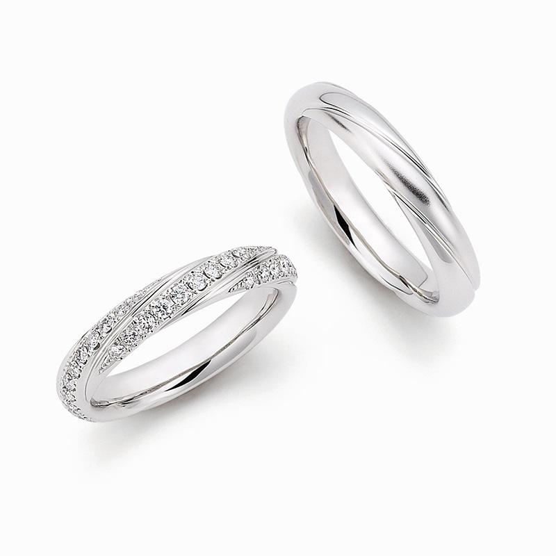 WRA016 WRB024|ロイヤルアッシャー結婚指輪