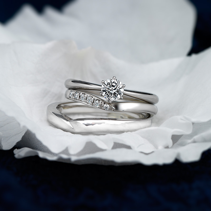 ERA251 WRA025 WRB034 ロイヤルアッシャー婚約指輪・結婚指輪