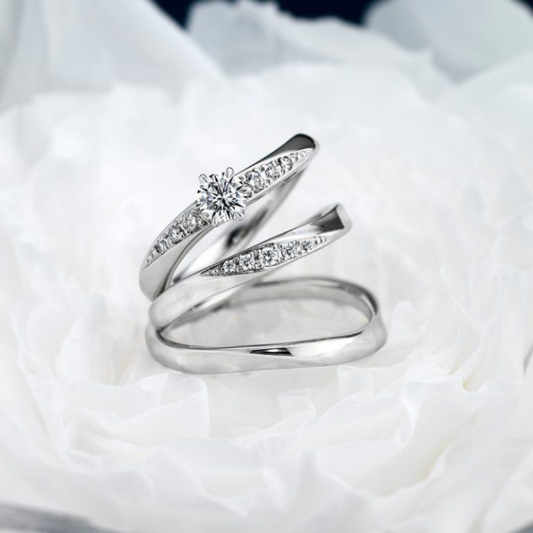 ERA316 WRA027 WRB037|ロイヤルアッシャー婚約指輪・結婚指輪