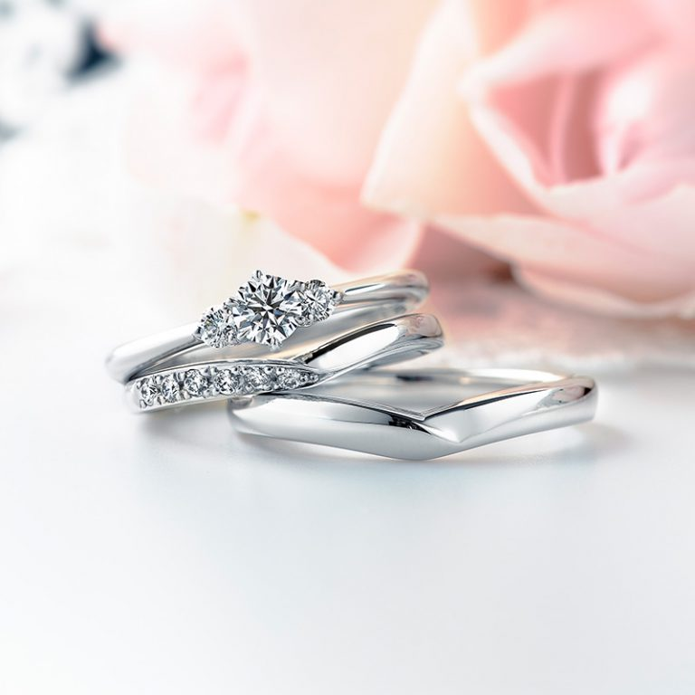 ERA693 WRA025 WRB034|ロイヤルアッシャー婚約指輪・結婚指輪