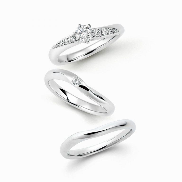 ERA316 WRA009 WRB035|ロイヤルアッシャー婚約指輪・結婚指輪
