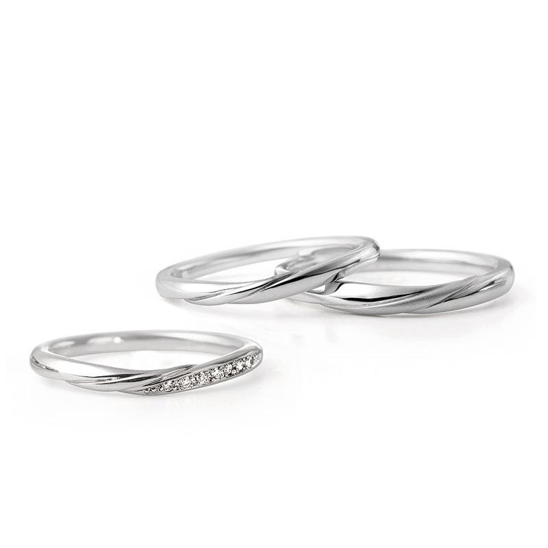 ルシエの結婚指輪をお作り頂きました