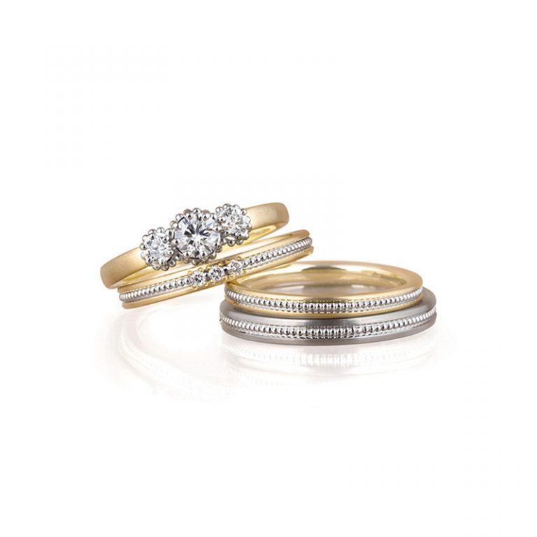 Colline(コリーヌ)|LUCIE婚約指輪 結婚指輪