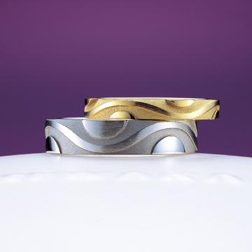 風神(ふうじん)|NIWAKA(にわか) 結婚指輪