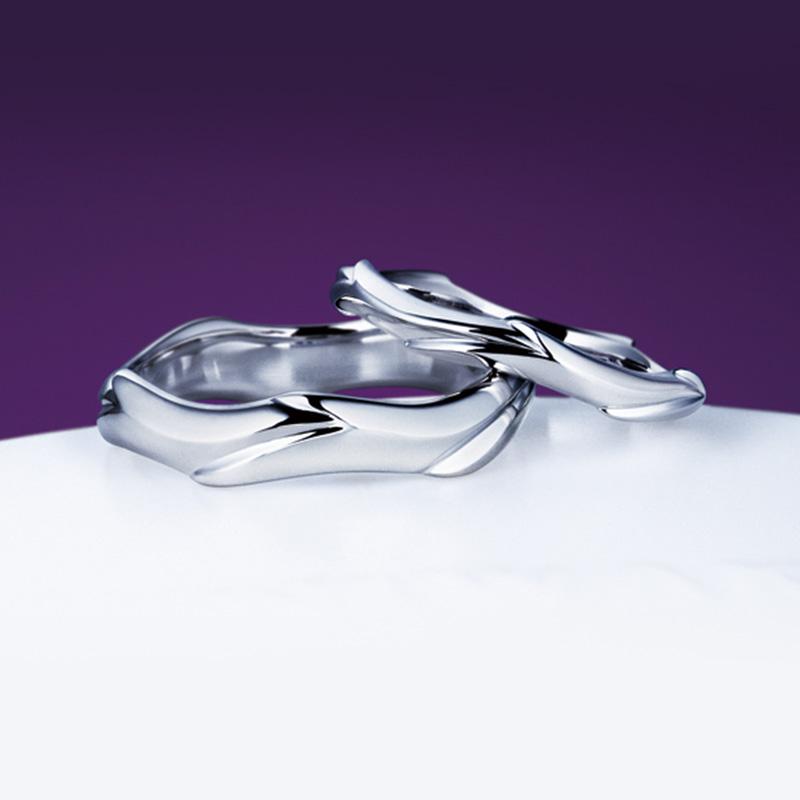 鯨|NIWAKA 結婚指輪