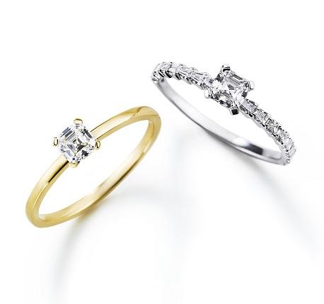 プレッジリング/プレッジステアーズリング|AHKAH(アーカー) 婚約指輪