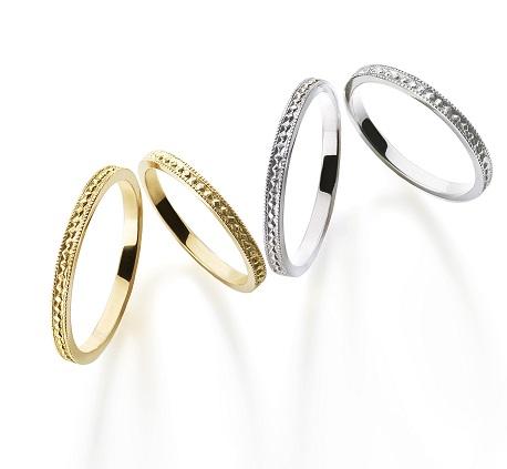 ピュルテリング|AHKAH(アーカー) 結婚指輪
