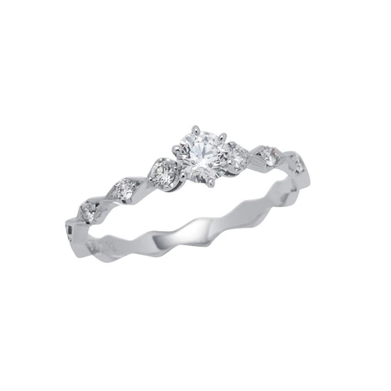 ロサンジュエンゲージリング|AHKAH(アーカー) 婚約指輪