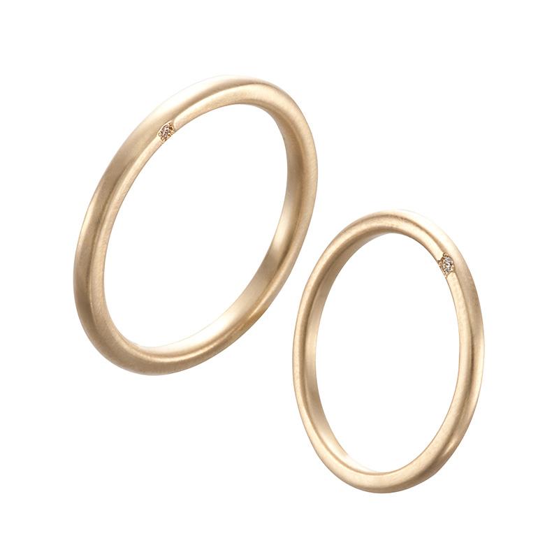 オネスティリング|AHKAH(アーカー) 結婚指輪