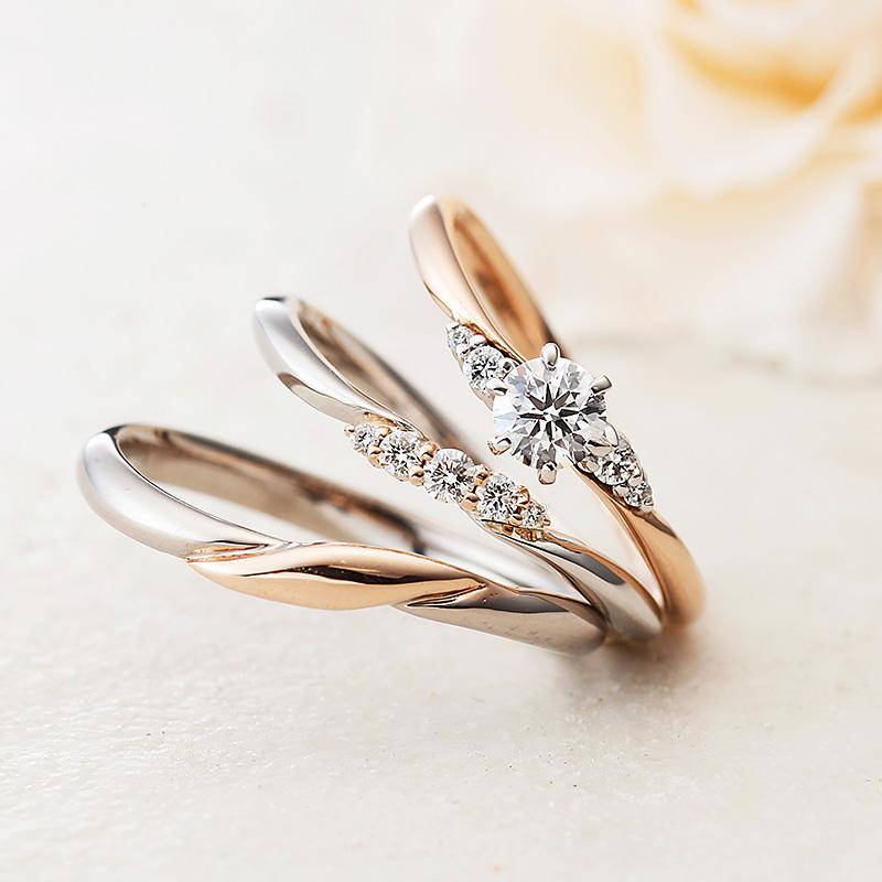 アイリス|アムールアミュレット婚約指輪・結婚指輪