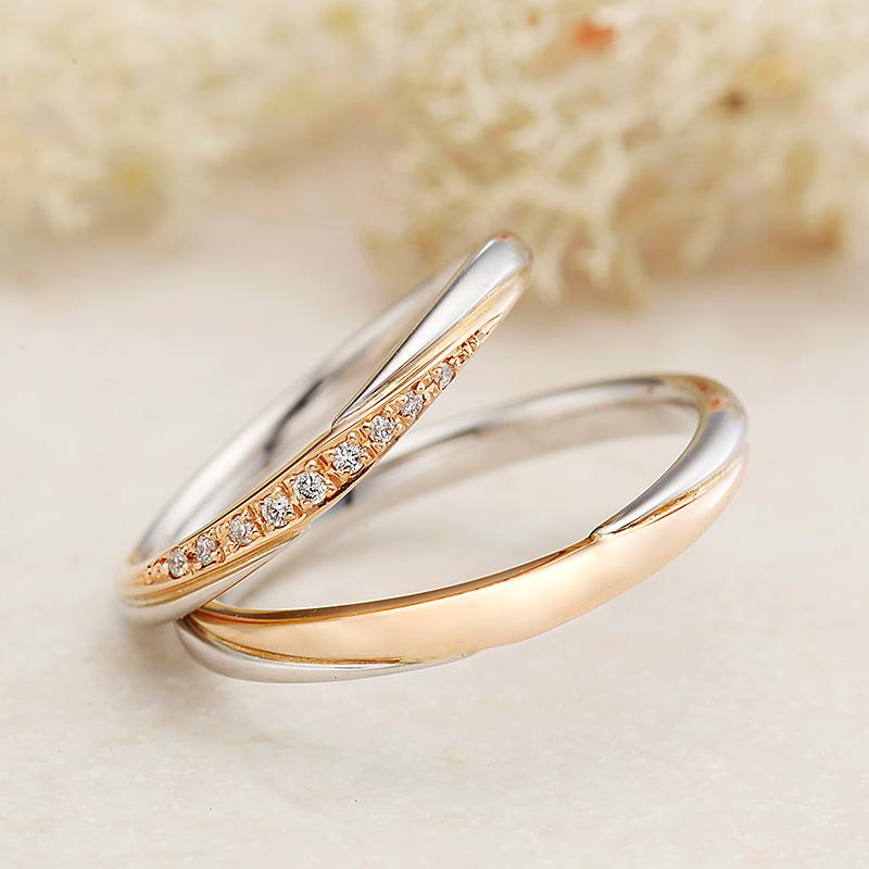 シェリー アムールアミュレット結婚指輪