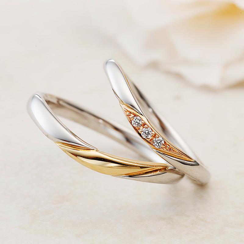 ボヌール|アムールアミュレット結婚指輪