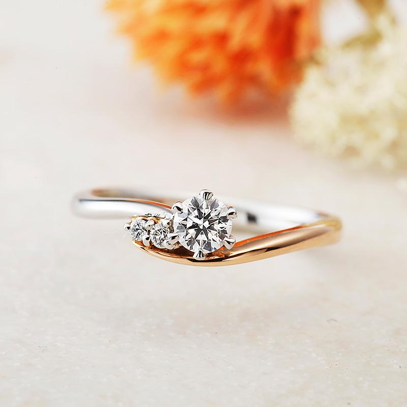 ボヌール アムールアミュレット婚約指輪
