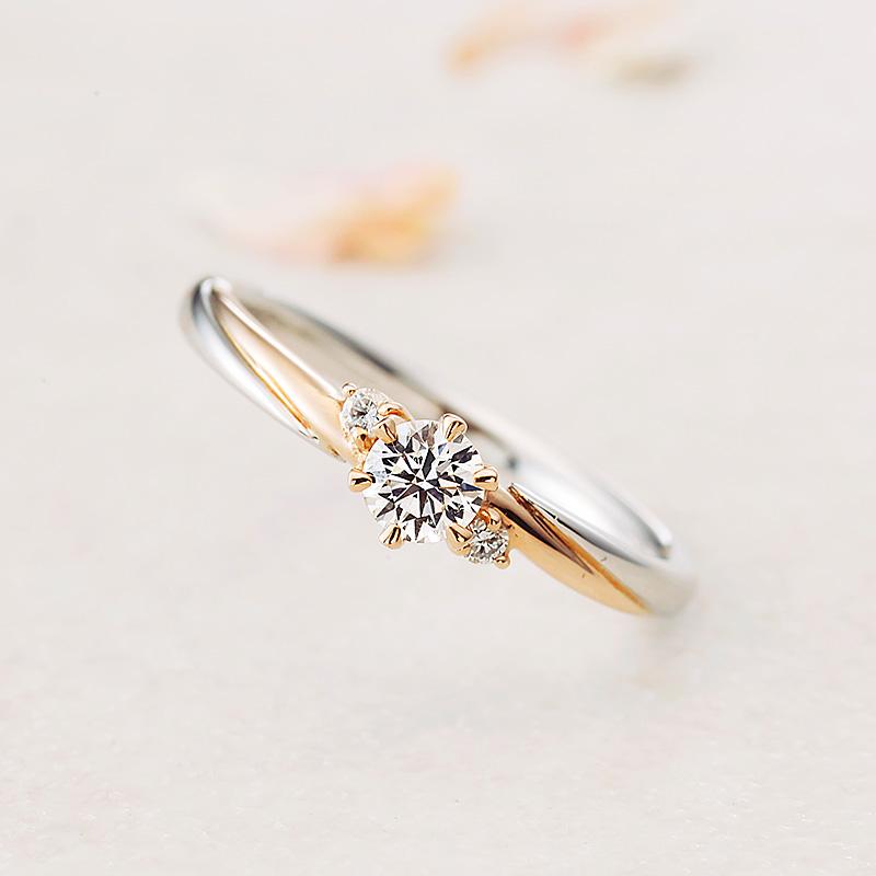 シェリー アムールアミュレット婚約指輪