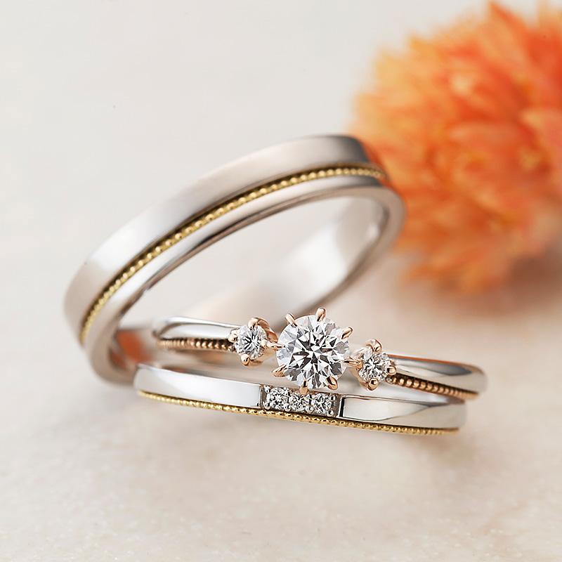 アターシュ|アムールアミュレット婚約指輪・結婚指輪