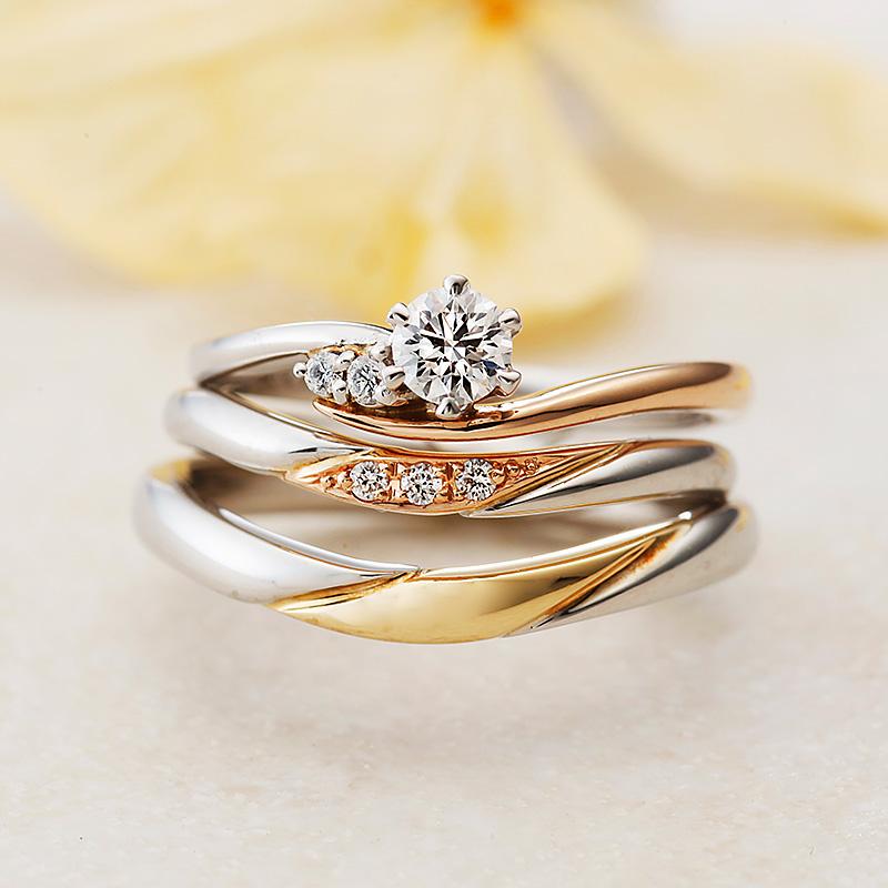 ボヌール|アムールアミュレット婚約指輪・結婚指輪