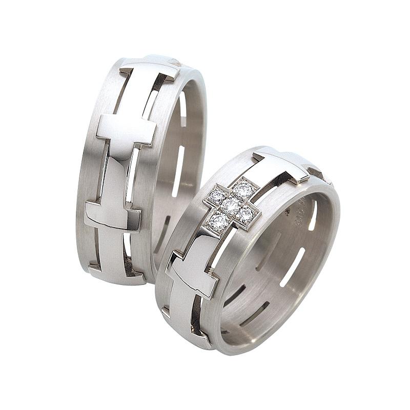 スカルプチャー クロス|FURRER-JACOT(フラー・ジャコー) 結婚指輪