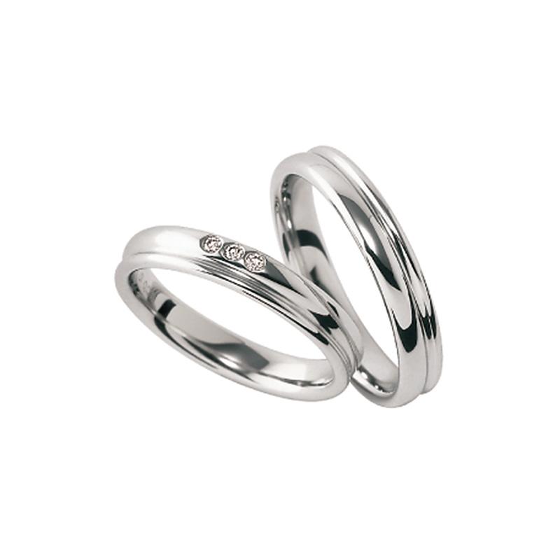 ウエディングバンド ブラン・エ・ブラン|FURRER-JACOT(フラー・ジャコー) 結婚指輪