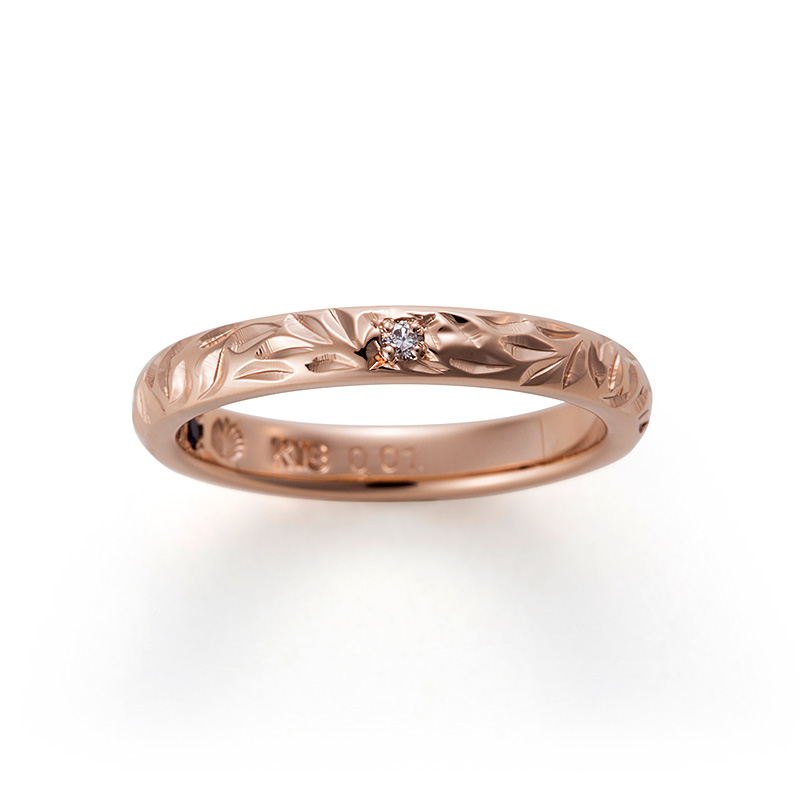 Makana(マカナ)の結婚指輪をお作りいただきました