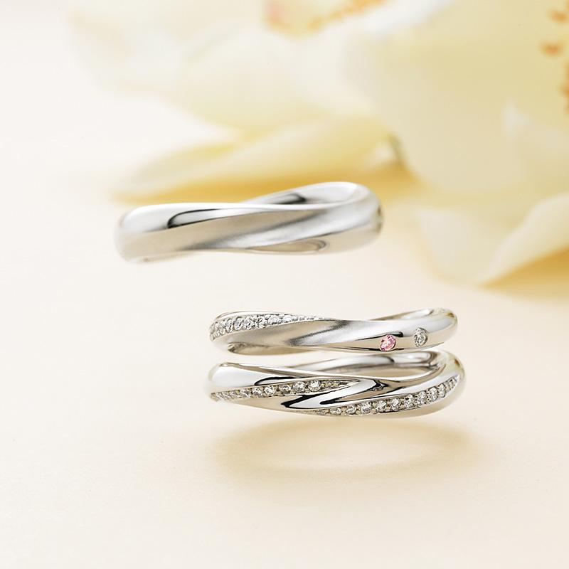 Mer(メール)マリアージュエントの結婚指輪