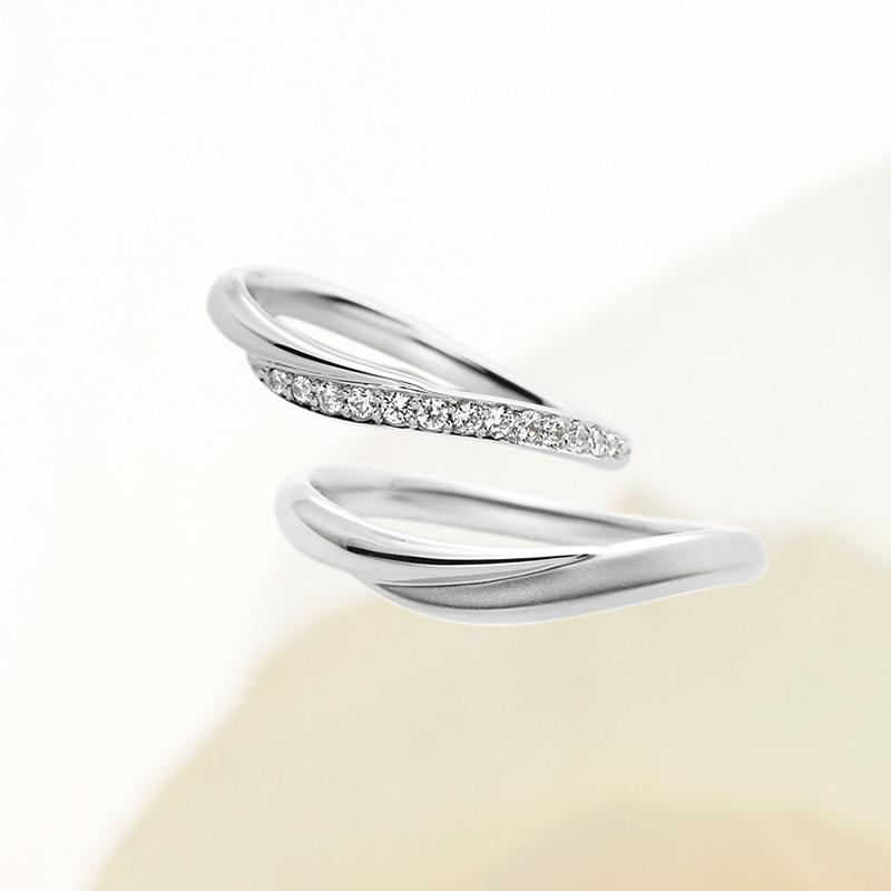 petit oiseau(プチトワゾー)マリアージュエントの結婚指輪