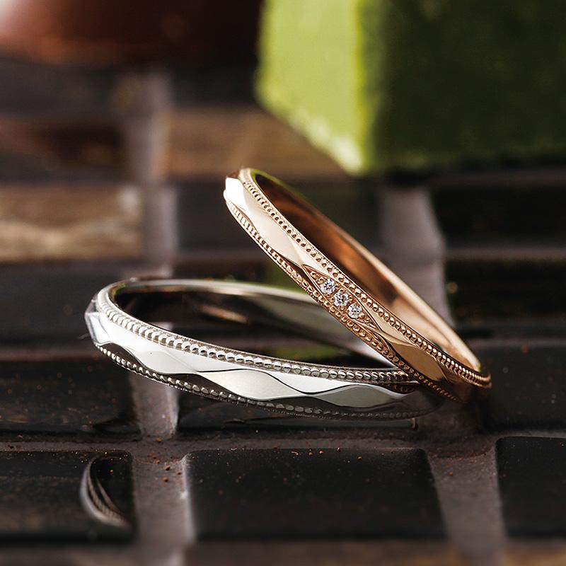 マタン パヴェオショコラ結婚指輪
