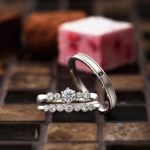 バルーン|パヴェオショコラ婚約指輪・結婚指輪