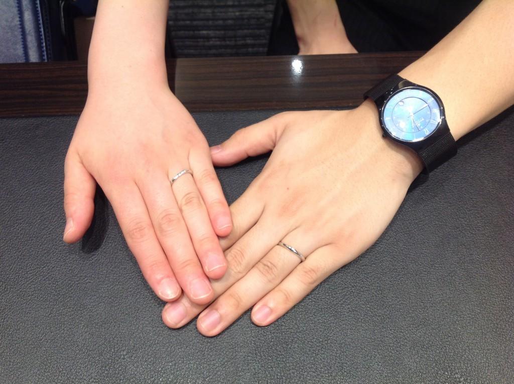 NIWAKAの指輪をお作り頂きました!