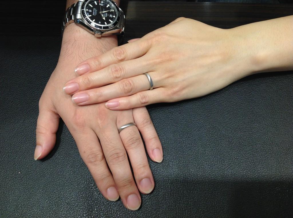 フィッシャーの指輪をお作り頂きました!